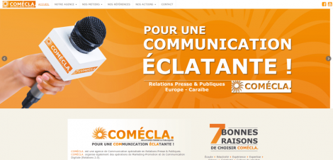 Comecla site web image - Nicolas Gillium